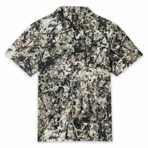Vans Vans VANS X MOMA POLLOCK SHORT SLEEVE SHIRT (Moma) Jackson Pollock