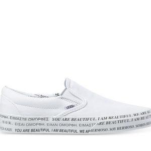 Vans Vans Vans x We Are Beautiful CLASSIC SLIP-ON White & True White
