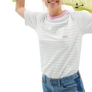 Vans Vans Mini Stripe Pocket T-Shirt White
