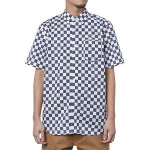 Vans Vans Cypress Checker 2.0 Short Sleeve Shirt Black & White