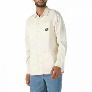 Vans Vans Bayview Long Sleeve Buttondown Shirt Seedpearl