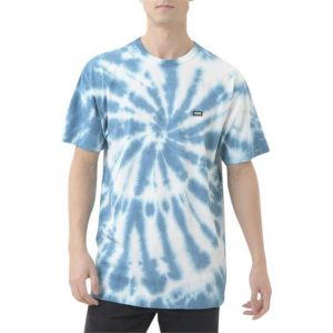 Vans Vans Off The Wall Spiral Wash T-Shirt Moroccan Blue