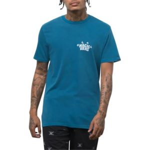 Vans Vans Vintage Magic T-Shirt Moroccan Blue