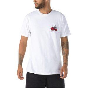 Vans Vans Rose Bed Short Sleeve Tee White