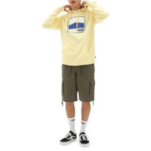 Vans Vans Dna Sidestripe Hoodie Mellow Yellow