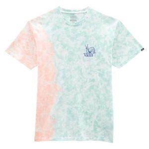 Vans Vans Tell A Friend Tie Dye T-Shirt Fusion Coral-Cameo Blue