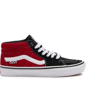 Vans Vans Skate Grosso Mid Black & Red