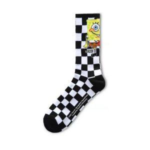 Vans Vans Vans X SpongeBob Crew (9.5-13) (Spongebob) Checkerboard