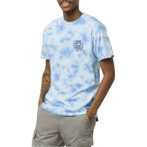 Vans Vans Checker Logo Tie Dye T-Shirt Nautical Blue