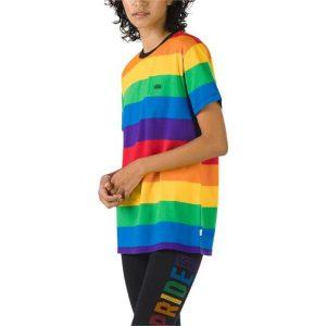 Vans Vans Pride Stripe T-Shirt Rainbow