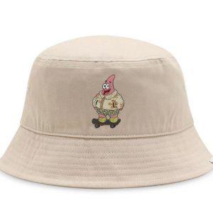 Vans Vans Sandy Liang For SpongeBob X Vans Bucket Hat Khaki