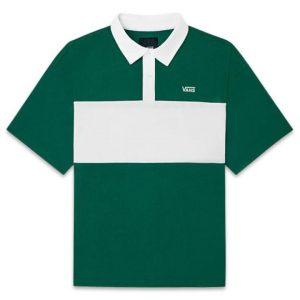 Vans Vans Whirlwind Polo T-Shirt Evergreen