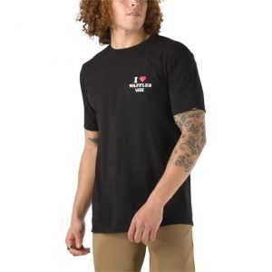 Vans Vans Fresh Waffles Daily T-Shirt Black