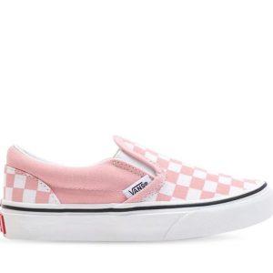 Vans Vans Kids Classic Slip-On Powder Pink & True White