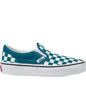 Vans Vans Kids Classic Slip-On Blue Coral & True White